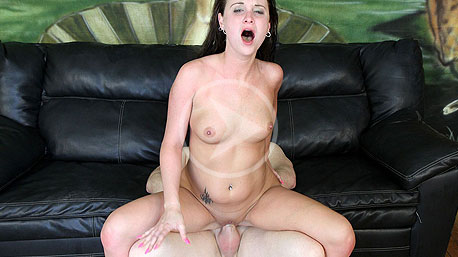 Jada Belle Riding a Cock on Facial Abuse
